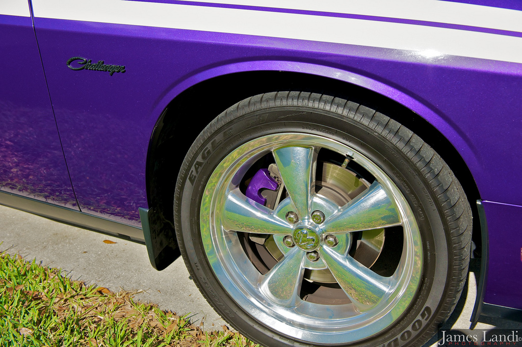 Car Paint Detector >> painted calipers | My Plum Crazy Challenger